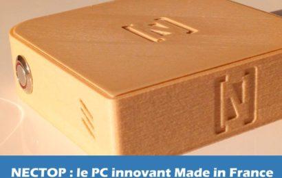 Le Nectop, la nouvelle innovation Made in France pour emmener son PC partout avec soi