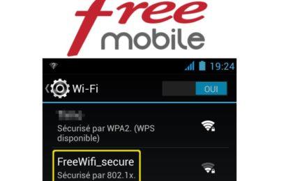 Comment connecter son mobile au réseau FreeWifi Secure ?
