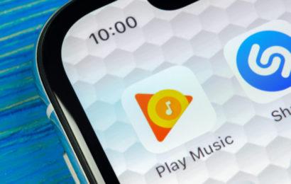 Google Play Musique, début du transfert vers YouTube Music