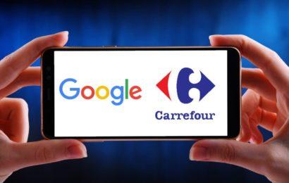 Google et Carrefour s'associent et créent un nouveau moyen de faire des courses